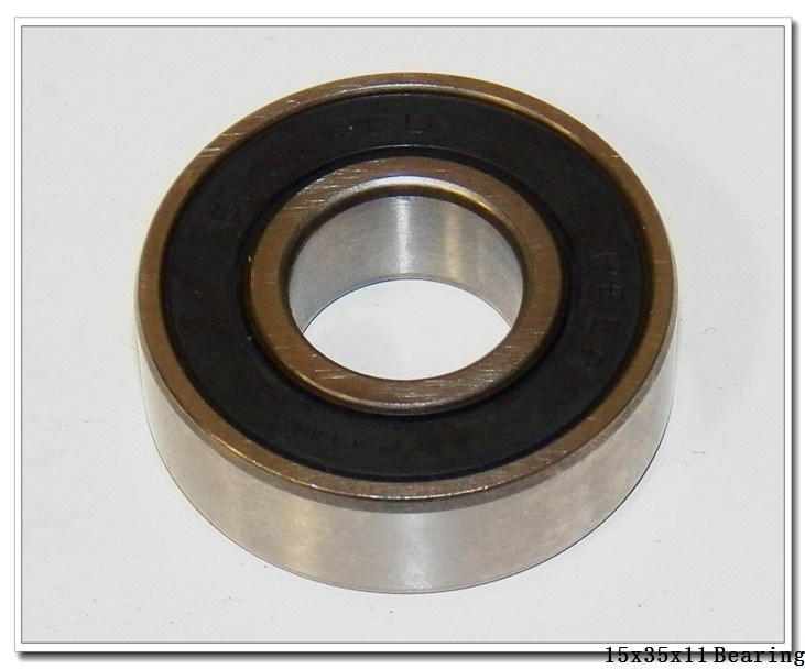 15 mm x 35 mm x 11 mm  NACHI 6202-2NSE9 deep groove ball bearings