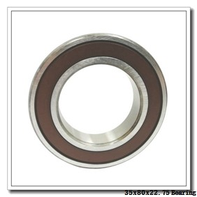 35 mm x 80 mm x 21 mm  NTN 30307D tapered roller bearings
