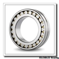55 mm x 140 mm x 33 mm  NKE 6411-N deep groove ball bearings