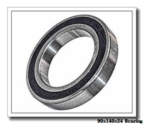 90 mm x 140 mm x 24 mm  NTN 5S-2LA-BNS018CLLBG/GNP42 angular contact ball bearings