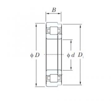 55 mm x 140 mm x 33 mm  KOYO NUP411 cylindrical roller bearings