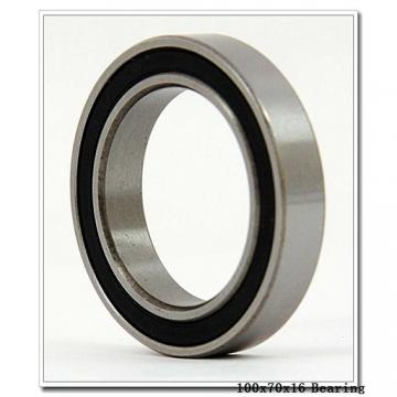 70 mm x 100 mm x 16 mm  SKF 71914 CE/P4A angular contact ball bearings
