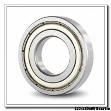 120 mm x 180 mm x 60 mm  ISO 24024 K30CW33+AH24024 spherical roller bearings