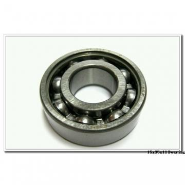 15 mm x 35 mm x 11 mm  NSK 6202T1XZZ deep groove ball bearings