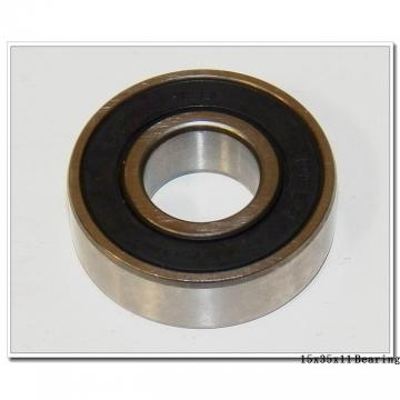15,000 mm x 35,000 mm x 11,000 mm  SNR 6202ZG15B deep groove ball bearings