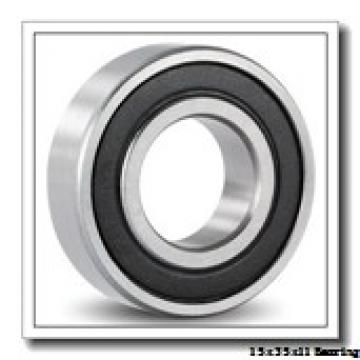 15 mm x 35 mm x 11 mm  NTN 7202BDB angular contact ball bearings