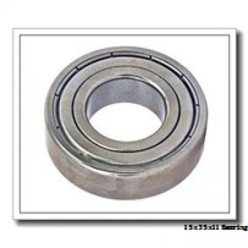 15 mm x 35 mm x 11 mm  NACHI 7202BDT angular contact ball bearings