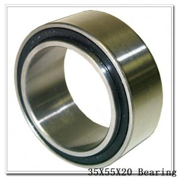 35 mm x 55 mm x 20 mm  NTN 7907DBP5 angular contact ball bearings
