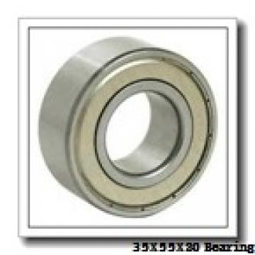 35 mm x 55 mm x 20 mm  SNR ACB35X55X20 angular contact ball bearings