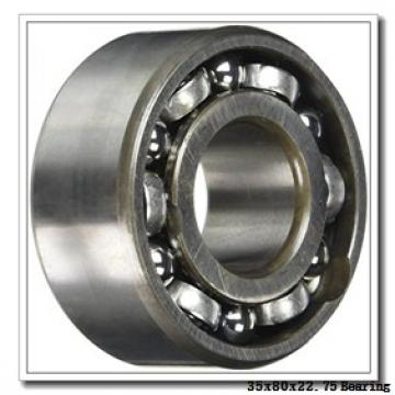 35 mm x 80 mm x 21 mm  FBJ 31307 tapered roller bearings