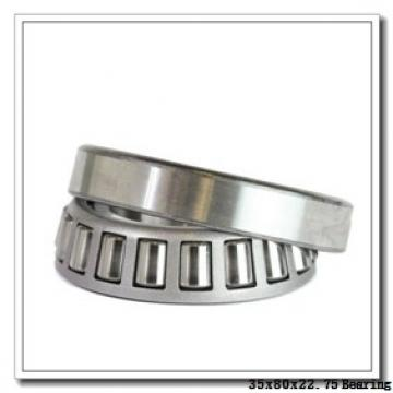 35 mm x 80 mm x 22 mm  KBC TR358023 tapered roller bearings