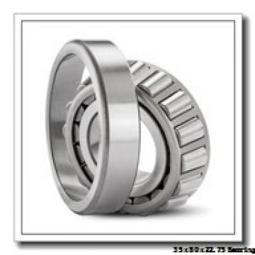 35 mm x 80 mm x 21 mm  NSK HR30307DJ tapered roller bearings