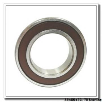 35 mm x 80 mm x 21 mm  ISO 31307 tapered roller bearings