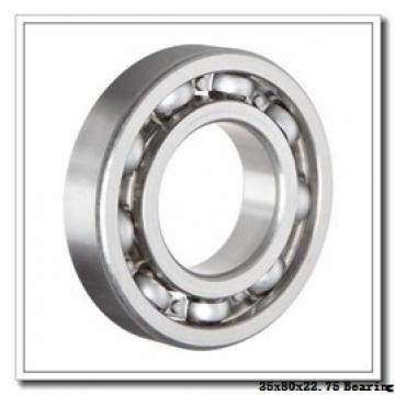 35 mm x 80 mm x 21 mm  FBJ 30307D tapered roller bearings