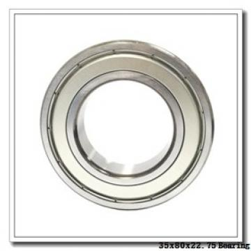 35 mm x 80 mm x 21 mm  KBC 30307J tapered roller bearings