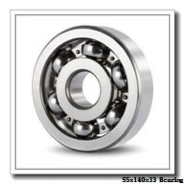 55 mm x 140 mm x 33 mm  NKE NJ411-M+HJ411 cylindrical roller bearings