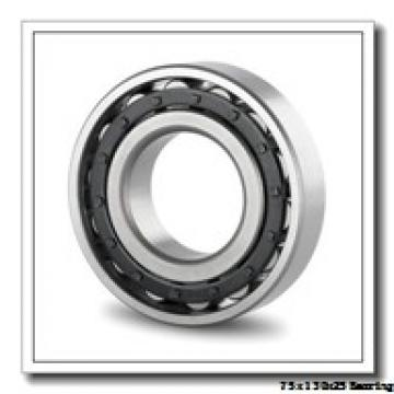 75 mm x 130 mm x 25 mm  KOYO 6215NR deep groove ball bearings