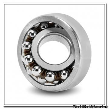 75 mm x 130 mm x 25 mm  NTN 7215BDT angular contact ball bearings