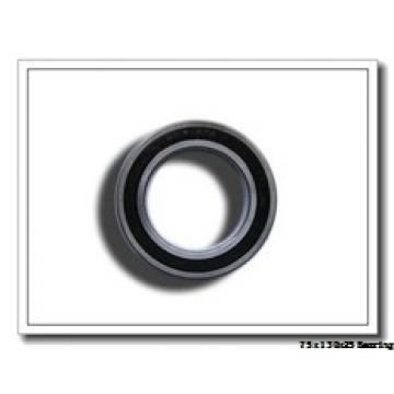 75 mm x 130 mm x 25 mm  ISO NU215 cylindrical roller bearings