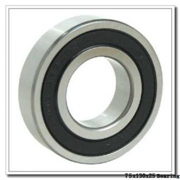 75 mm x 130 mm x 25 mm  Timken 215WD deep groove ball bearings