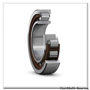 75 mm x 130 mm x 25 mm  Timken 215WG deep groove ball bearings
