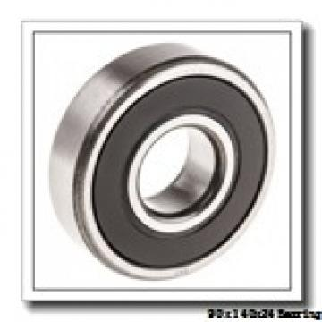 90 mm x 140 mm x 24 mm  Loyal 7018 A angular contact ball bearings
