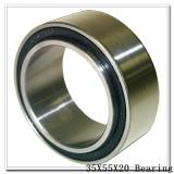 35 mm x 55 mm x 20 mm  PFI PC35550020CSR1 deep groove ball bearings