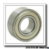 35 mm x 55 mm x 20 mm  NSK 35BD219T12 angular contact ball bearings