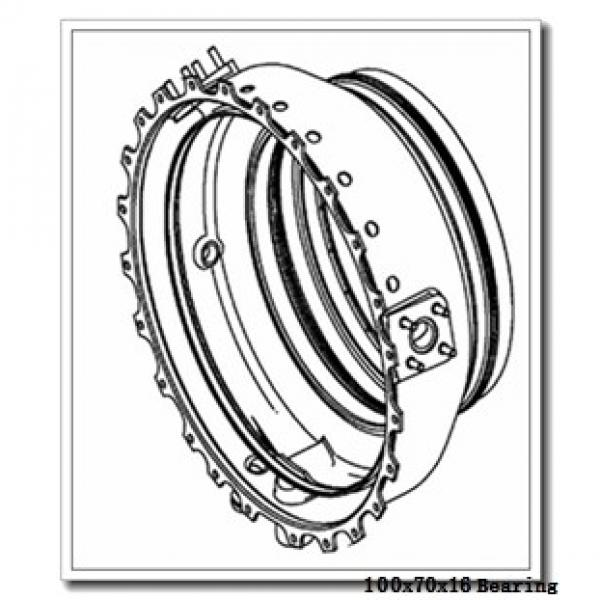 70 mm x 100 mm x 16 mm  SKF 71914 CB/P4A angular contact ball bearings #2 image