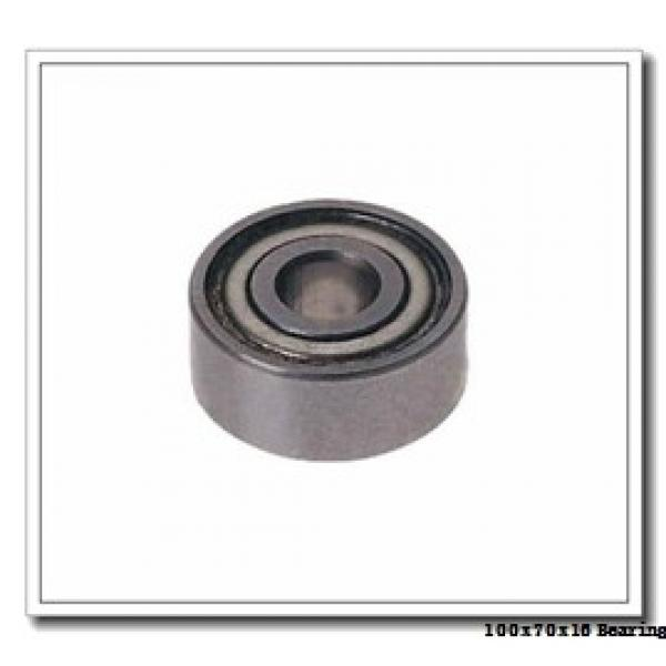 70 mm x 100 mm x 16 mm  SKF 71914 CD/P4AL angular contact ball bearings #1 image