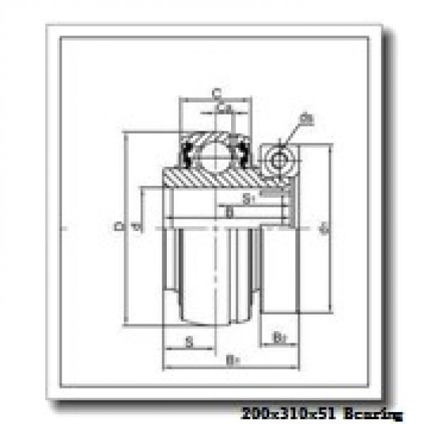 200 mm x 310 mm x 51 mm  CYSD NJ1040 cylindrical roller bearings #1 image
