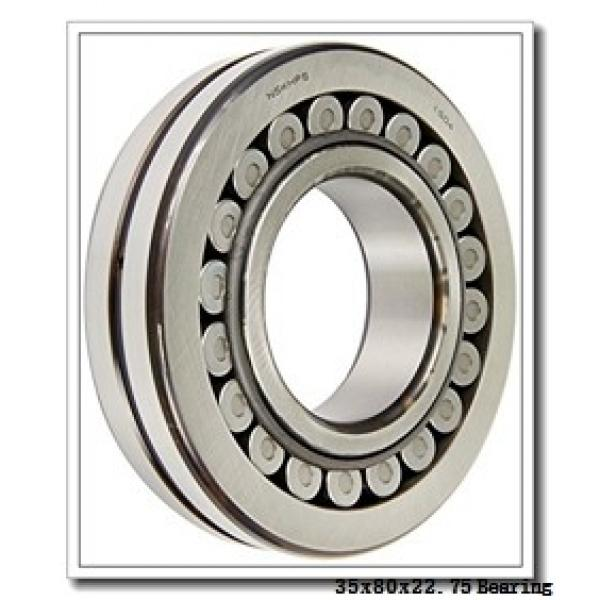 35 mm x 80 mm x 21 mm  NTN 4T-30307 tapered roller bearings #2 image