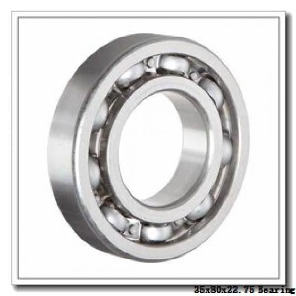 35 mm x 80 mm x 21 mm  NTN 4T-30307 tapered roller bearings #1 image