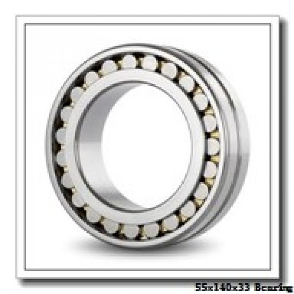 55 mm x 140 mm x 33 mm  KOYO NU411 cylindrical roller bearings #2 image